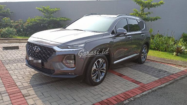 2018 Hyundai Santa Fe XG CRDI - Istimewa Siap Pakai (preview-0)