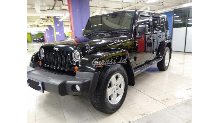 2012 Jeep Wrangler Sahara CRD - Sangat Istimewa Seperti Baru (preview-0)