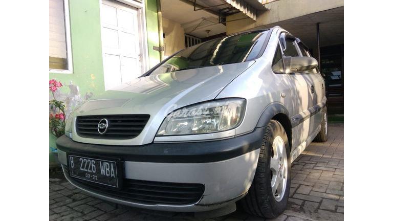 Jual Mobil Bekas 2001 Chevrolet Zafira 1 8 Cd Kota Bandung 00lu728