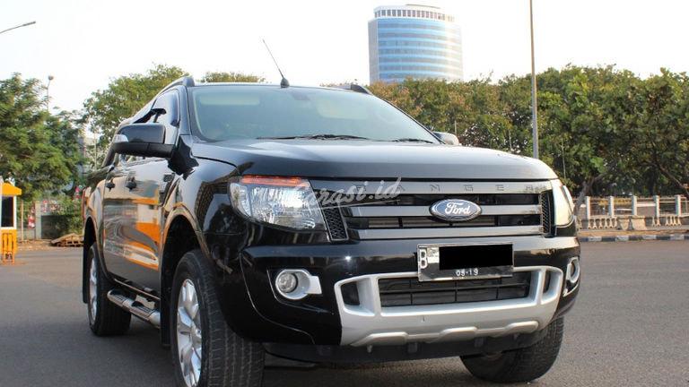 2014 Ford Ranger WILD TRACK 4X4 - PAJAK SUDAH PANJANG KONDISI SANGAT APIK TERAWAT SIAP PAKAI BANGET (preview-0)