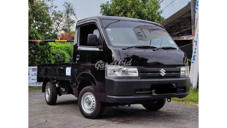 2019 Suzuki Carry Pick Up Flat Deck - Hitam Plat W Bisa Kredit (preview-0)