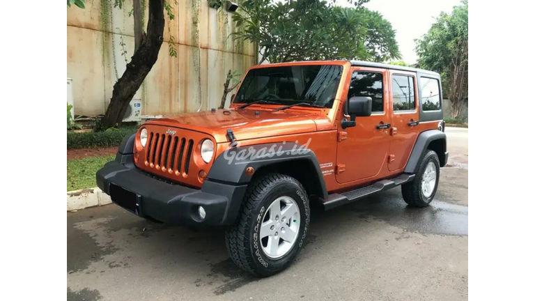 2011 Jeep Wrangler Unlimited Sport - Barang Bagus Dan Harga Menarik (preview-0)