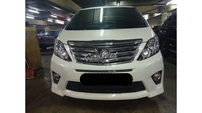 2013 Toyota Alphard at - SIAP PAKAI! (preview-0)