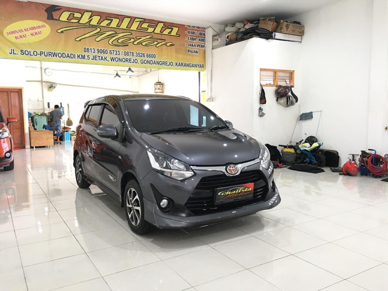 2018 Toyota Agya Trd Sportivo - Mobil Pilihan (preview-0)