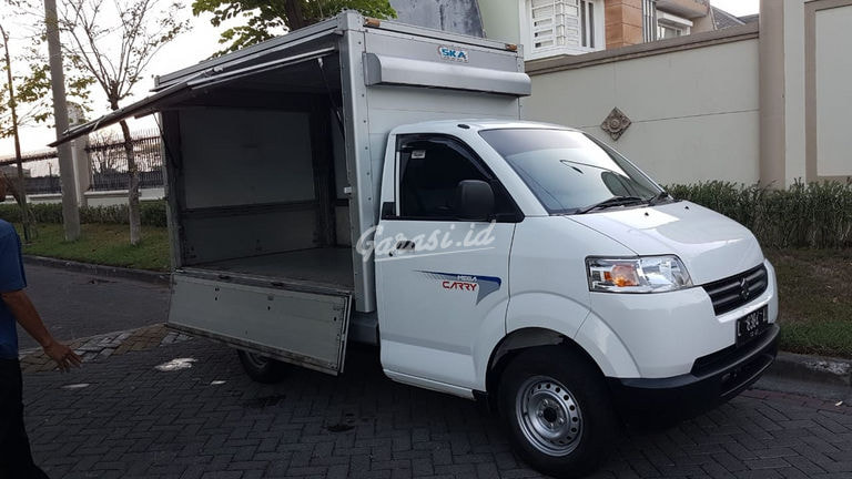 2018 Suzuki Mega Carry Pick up box - Like New (preview-0)