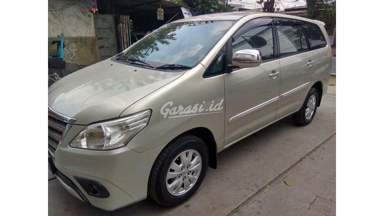Jual Mobil Bekas 2013 Toyota Kijang Innova G Jakarta Selatan 00ch571 Garasi Id