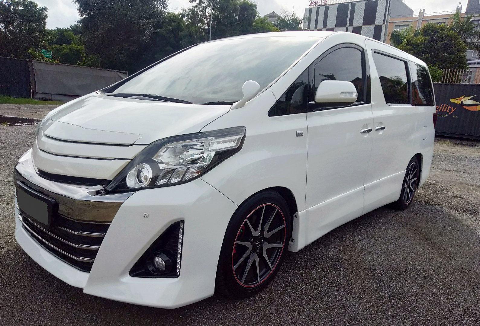 2013 Toyota Alphard GS - Kondisi Mulus Tinggal Pakai (preview-0)