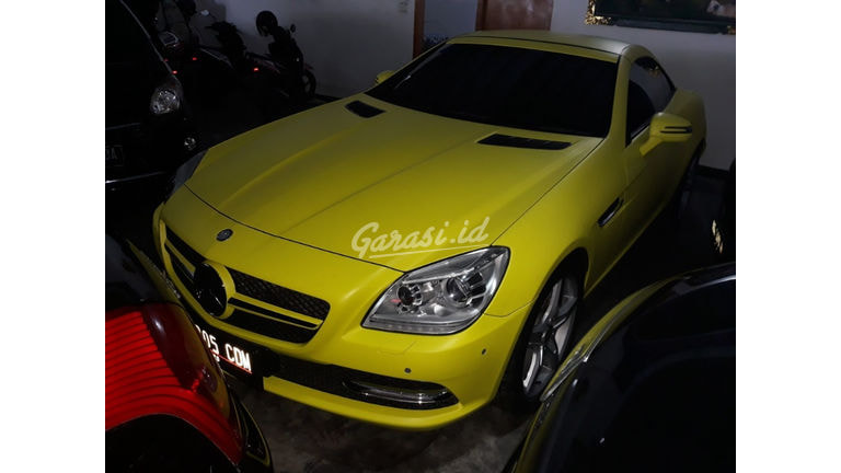 2012 Mercedes Benz Slk 200 - Siap Pakai (preview-0)