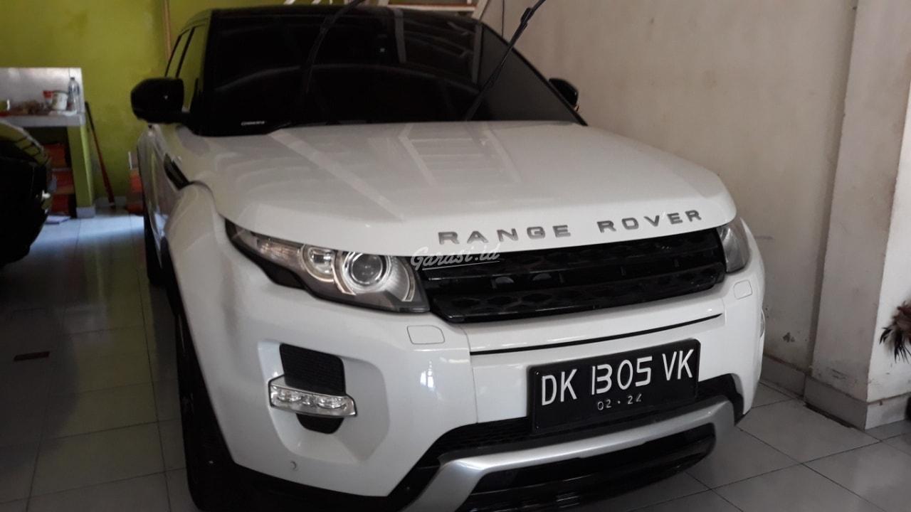 Range Rover Evoque >> Jual Mobil Bekas 2012 Land Rover Range Rover Evoque Denpasar 00fq614 Garasi Id