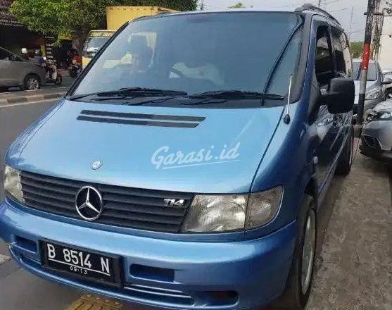 Mercedes Benz Vito >> Jual Mobil Bekas 2003 Mercedes Benz Vito L Kota Bekasi 00lj257 Garasi Id